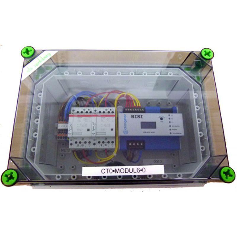 NA Schutz Box inkl. Kuppelschalter verdrahtet 1-Phasig bis 4,6kVA ode