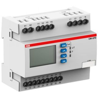 Grid protection set of components VDE-AR-N 4105 until 150 kVA incl. 2 tie breaker three-phase with neutral conductor circuit
